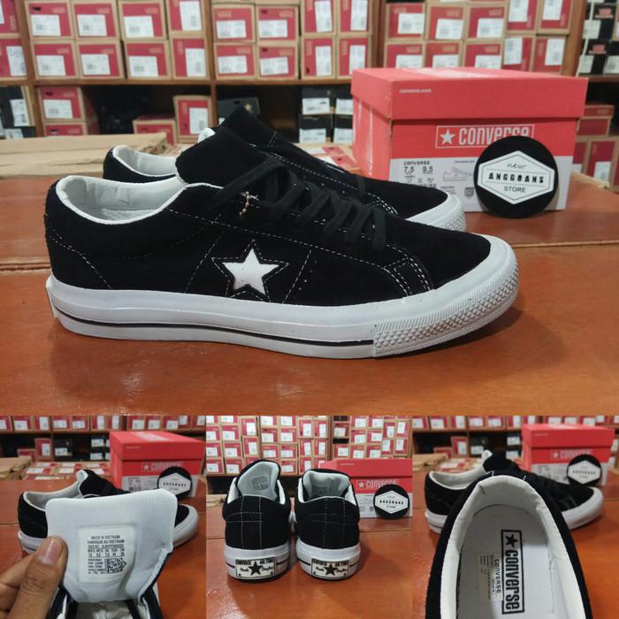 Jual Sepatu CONVERSE 70s ONE STAR Black White Hitam Putih - Premium ... 8902b25665