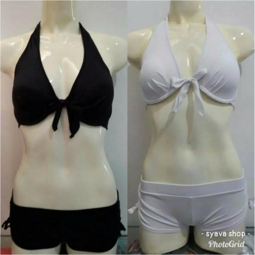 Foto Produk Baju Renang Diving Wanita Bikini Bra Push Up Tali Depan Pantai Wanita dari Syava Shop