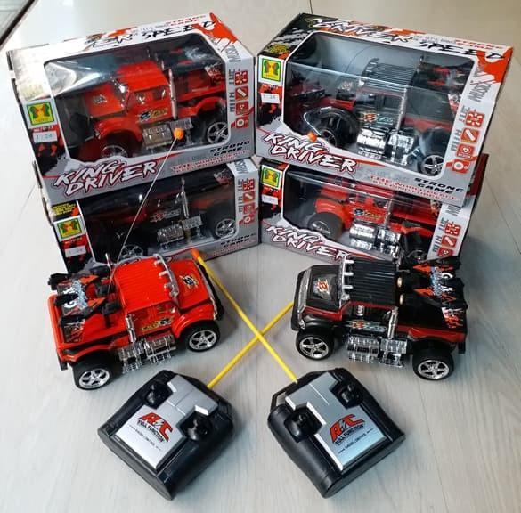 harga Mainan  mobil rc jeep king driver speed strong remote control Tokopedia.com