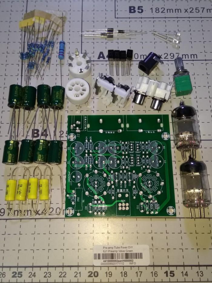 harga Fever 6j1 preamp tube valve diy kit pre amplifier power ampli tabung Tokopedia.com