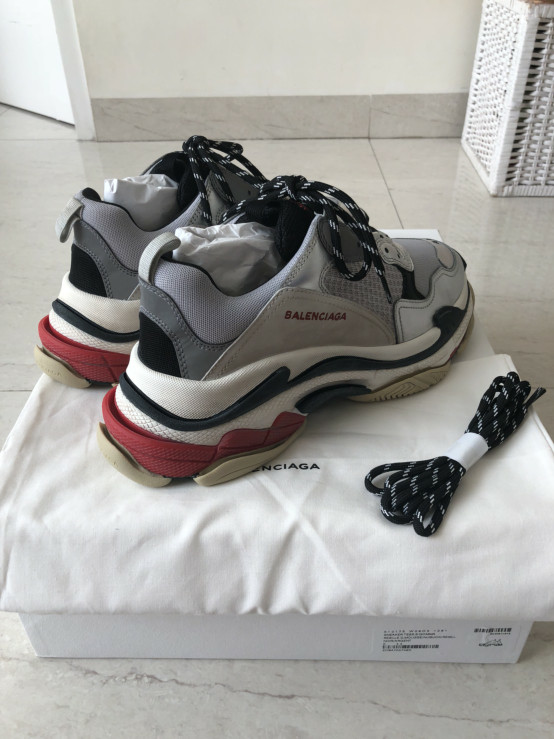 Yes they re Ugly Thanks Balenciaga Triple S Styling and