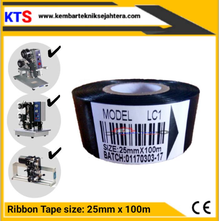Tinta pita ribon tape LC1 25mm x 100m