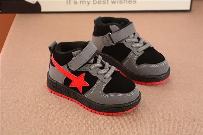 Jual Sepatu Sport Jordan Star 21-25 Sepatu Sneaker Kets Anak Import ... 0de3399c05