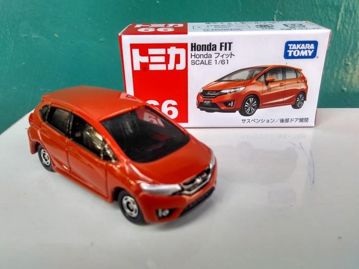 harga Tomica no 66 honda fit ( jazz ) diecast mobil takara tomy harga murah Tokopedia.com
