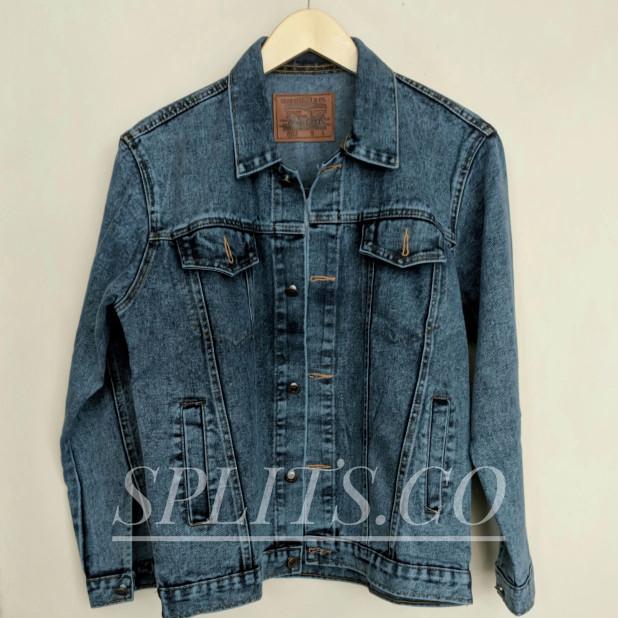 Jaket Jeans Levis Dark Sand Wash Pria Wanita Murah Denim Oversized - Dark  Sanwash cdd4fade60