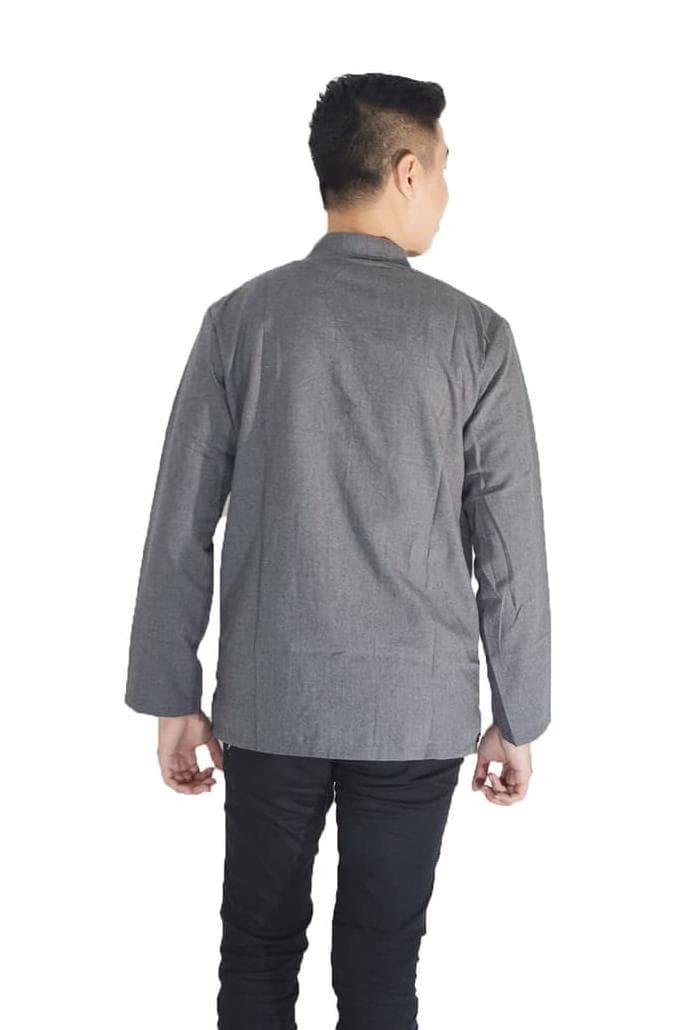 Jual Jfashion Baju Koko Pria Tangan Panjang - Yusuf - Putih 18c9ec951d
