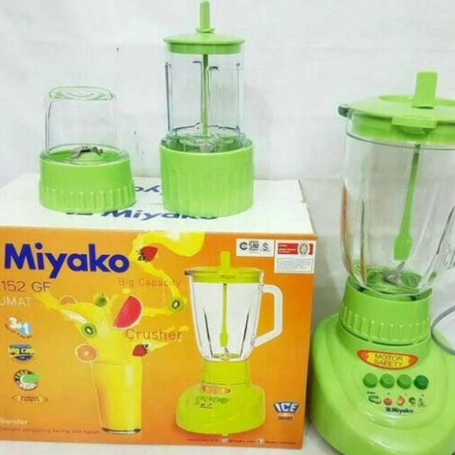 Blender miyako bl-152gf - kaca 15 ltr 3in1 free packing bubble