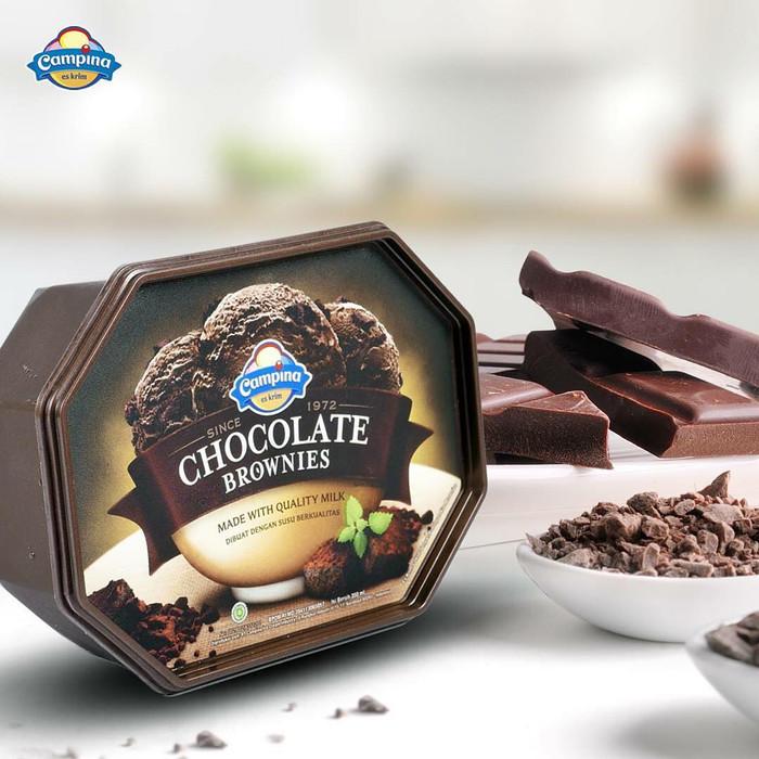 Jual Es Krim Chocolate Brownies 700 Ml Kab Bekasi Pesan Ice Cream Cikarang Tokopedia