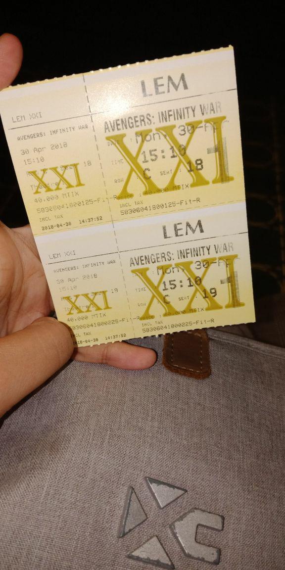 Jual Tiket Mtixx Xxi Harga Berbeda Tiap Bioskop Xxi Kab Lombok Tengah Ledot Mtix Tokopedia