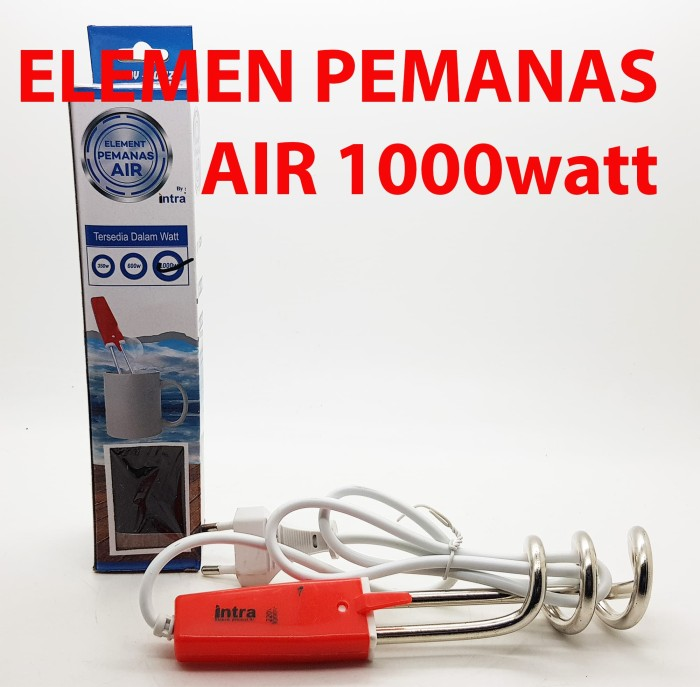 Elemen pemanas air 1000 w merk intra / water heater