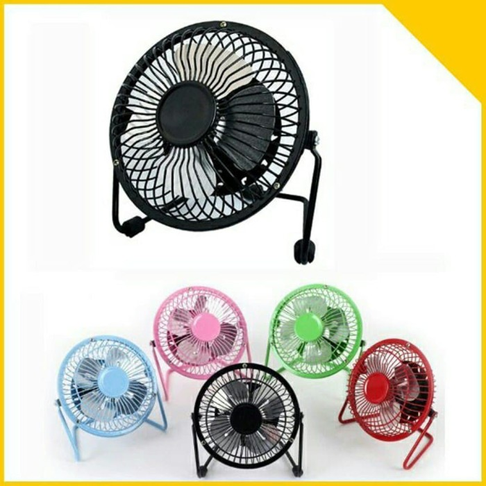 ... Kipas Angin Mini Usb Usb Mini Fan Portable Usb Fan Besi Hijau muda