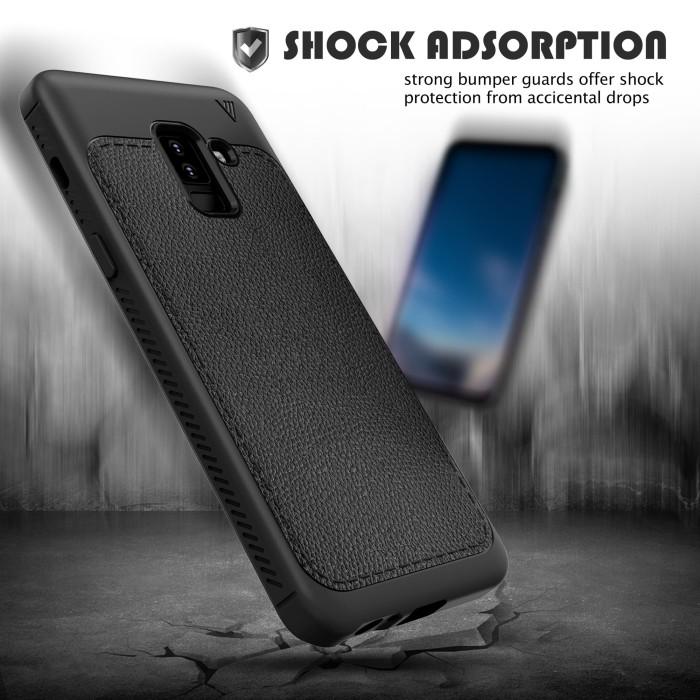 Jual Case Softcase V Series Samsung Galaxy A6 Plus Biru Maserik
