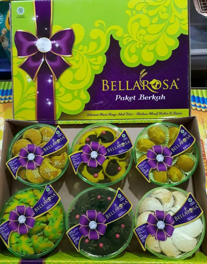 Paket Kue Kering lebaran Bellarosa Berkah