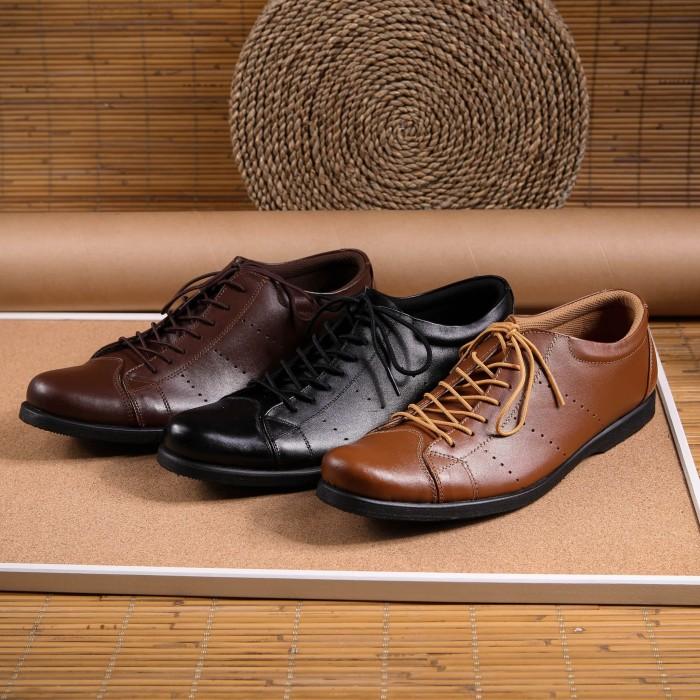 Jual Sepatu kulit pantofel kantor pria Merk Boston (Adidas da43758090