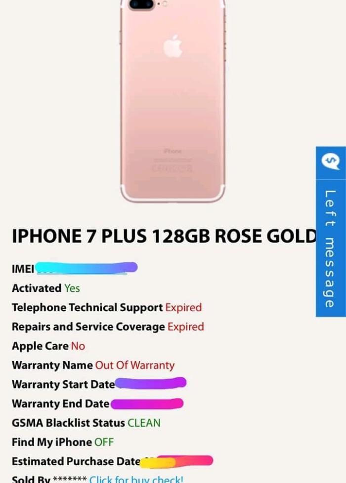 Jual Id info owner apple sold by apple iphone 6,7,8 - Kota Yogyakarta -  ServiceApple | Tokopedia