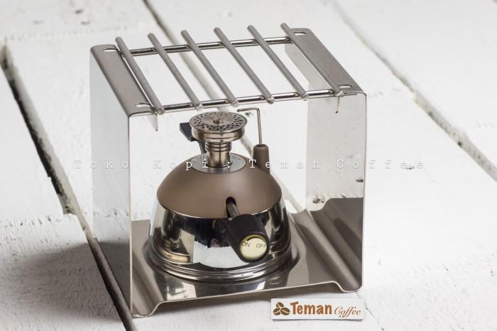 harga Set mini gas burner with square rack for mini gas burner Tokopedia.com