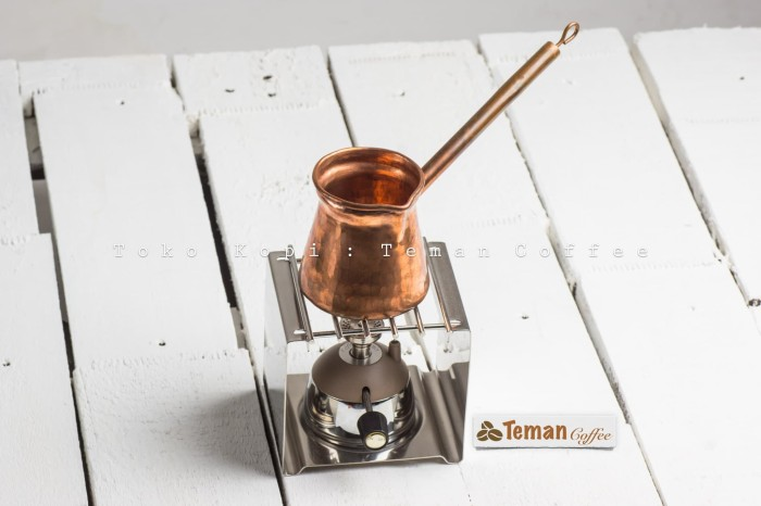 harga Set ibrik turkish coffee 2 cup with mini gas burner & gas rack Tokopedia.com
