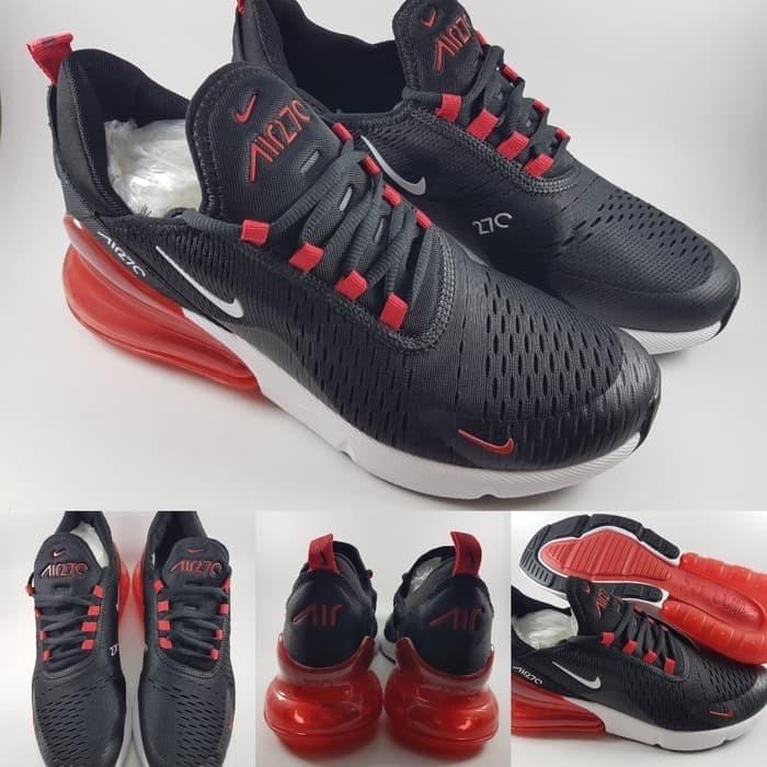 Sepatu Kota 270 Running Hitam Black Lari Dv Jogging Bandung Girl Red Merah Air Nike Jual Store FashionTokopedia Max 7gbf6y