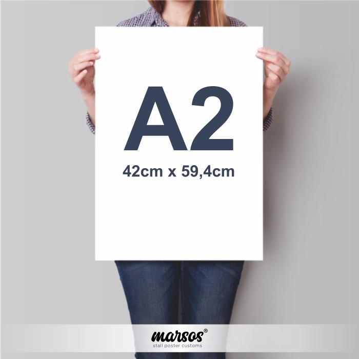jual poster bingkai ukuran a2 kab sleman marsos poster