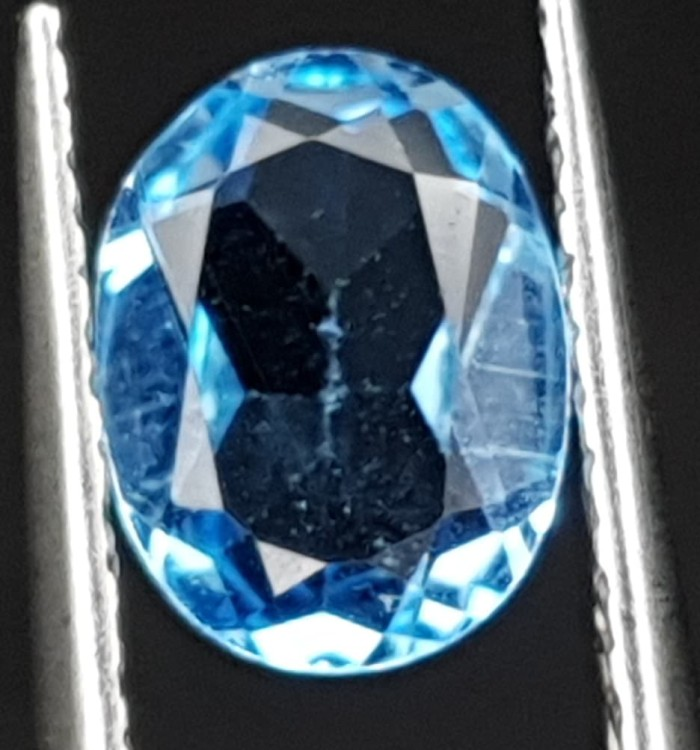 harga Natural 1.14ct swiss blue topaz top luster Tokopedia.com