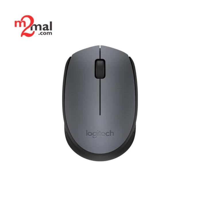 Foto Produk Logitech Mouse Wireless M170 - Black dari M2Mal