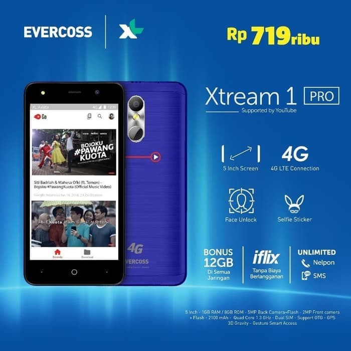 harga Hp murah evercoss xtream 1 pro garansi resmi evercoss Tokopedia.com