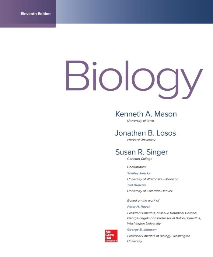Jual Biology 11th Edition Ebook Njaker Retail Tokopedia