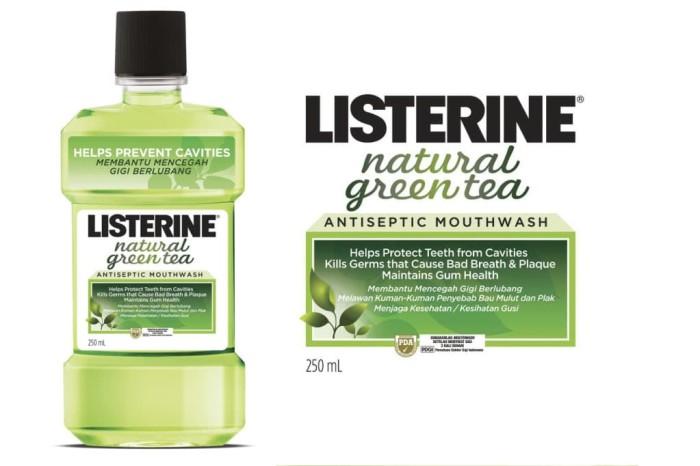 Info Listerine Natural Green Tea 250ml Travelbon.com