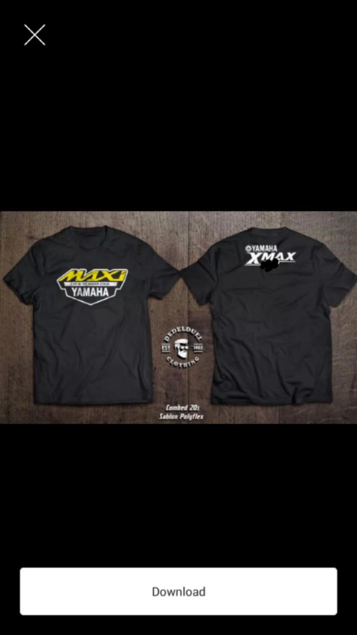 Jual Kaos Tshirt Baju YAMAHA XMAX Jakarta Timur Rejo Cloth