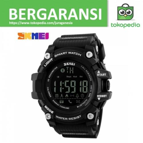 SKMEI Jam Tangan Olahraga Smartwatch Bluetooth DG1227 BL Black