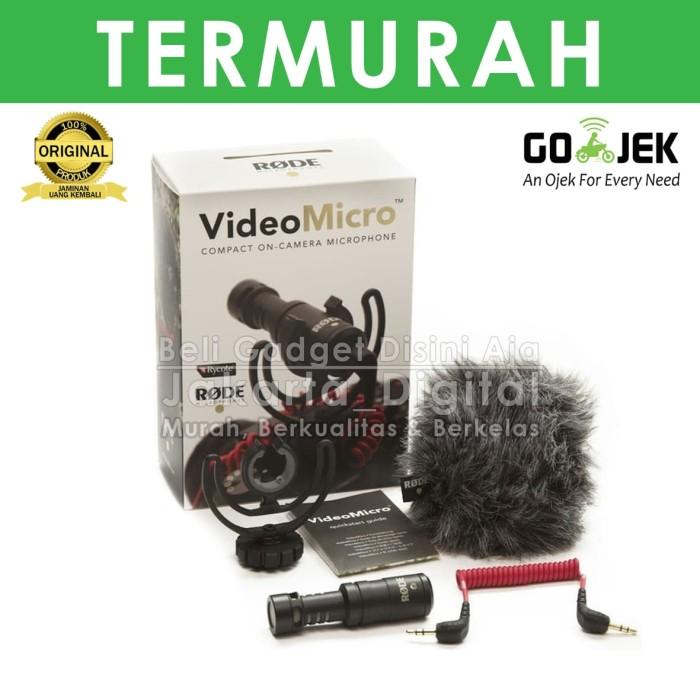 harga Jakarta digital mic rode videomicro / video micro microphone Tokopedia.com