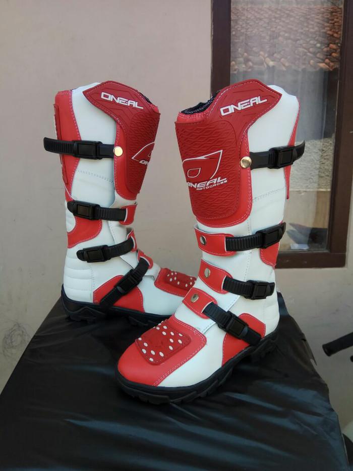 harga Sepatu cross trail cros offroad motocross oneal lokal murah bandung Tokopedia.com