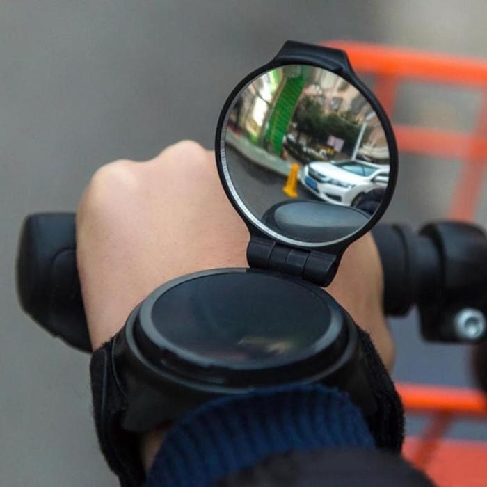 harga Kaca spion sepeda 360 rotatable arm wristband hand mirror bike Tokopedia.com