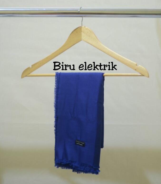 Segi Empat Rawis Warna Biru Elektrik