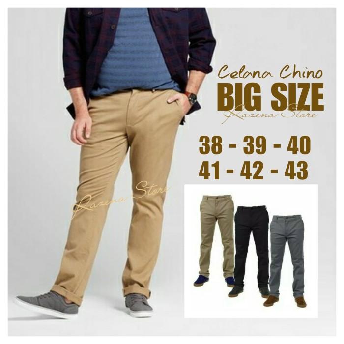 99+  Celana Chinos Big Size Paling Keren Gratis