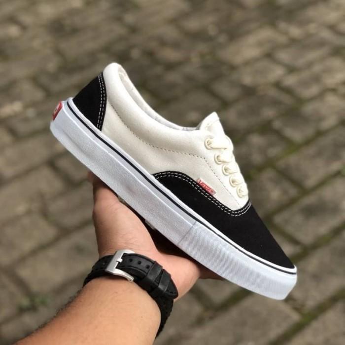 75cc5a1387 Jual Sepatu Vans Era Offwhite Black Import Premium Bnib China ...