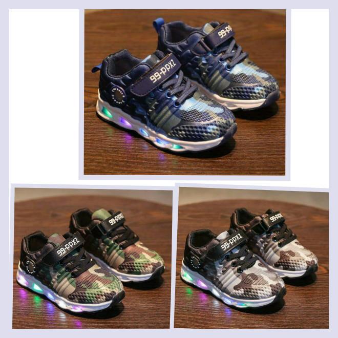 harga Sepatu anak import - sepatu led sport army Tokopedia.com