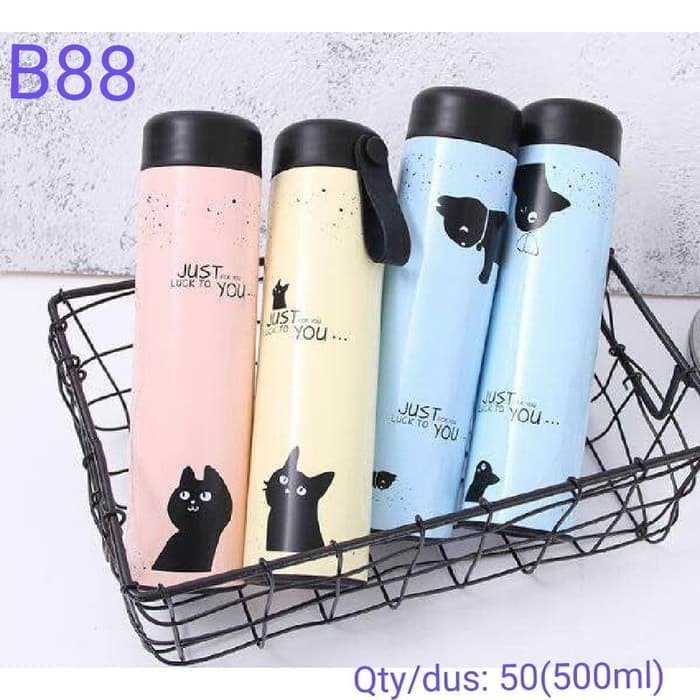 Botol Minum Termos Air Karakter Animal Stainless . Source · Termos air Panas Stainless Steel Karakter