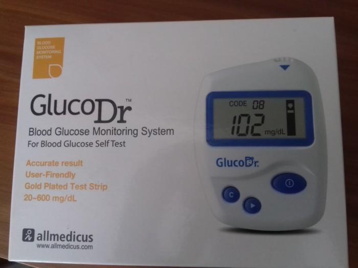 Gluco Dr Alat Test Darah untuk pengecekan Darah - tanpa Strip.
