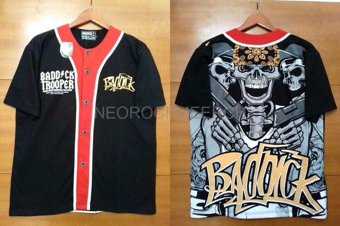 harga Kaos jersey baseball cotton full desain motif shotgun skull tengkora Tokopedia.com