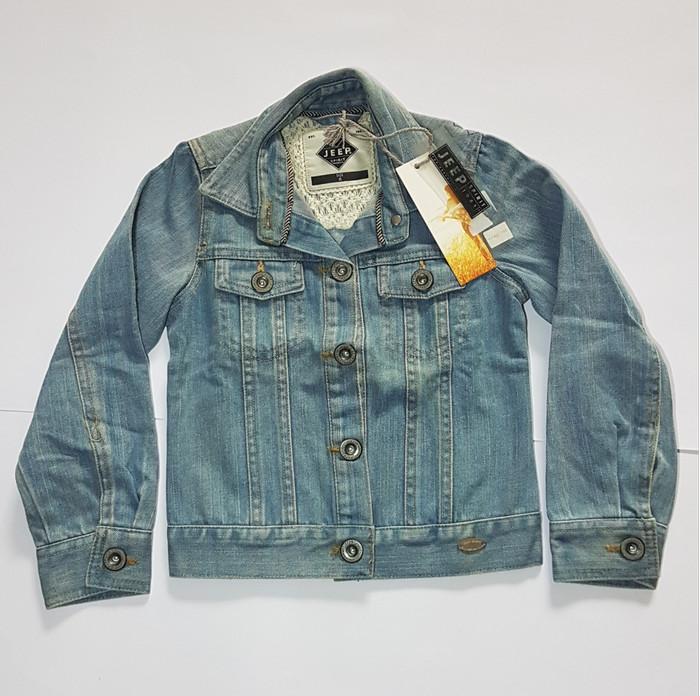 Jual Jaket jeans anak perempuan import branded JEEP Original - 3-4 ... 5a59bec7e0