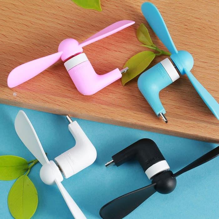 Foto Produk REMAX F10 Portable Mini Fan Micro USB Port / Kipas Angin Portable dari Pro Glass
