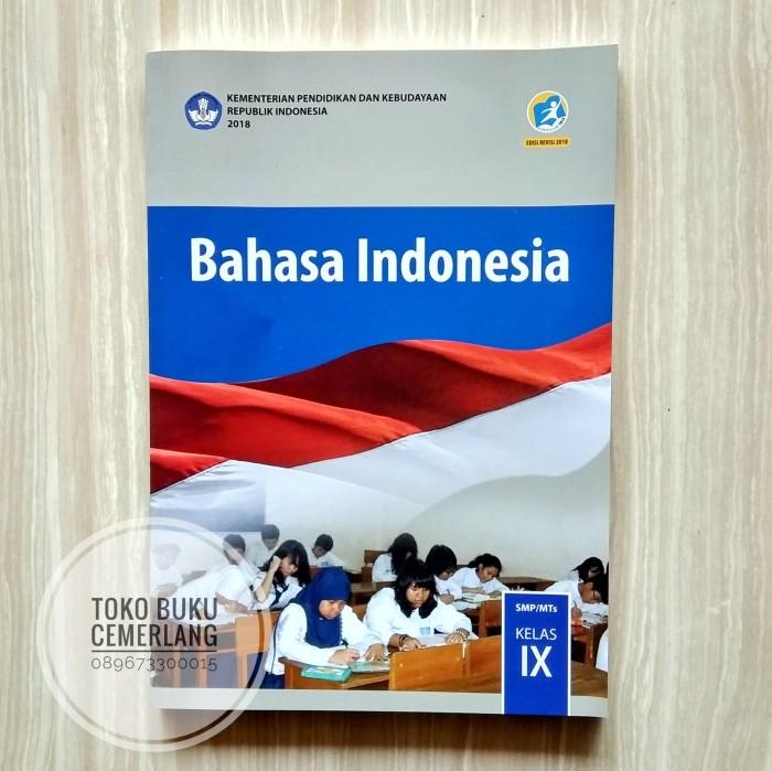 Jual Buku Bahasa Indonesia Smp Kelas Ix 9 Kurikulum 2013 Revisi 2018 Kota Semarang Toko Buku Cemerlang Tokopedia