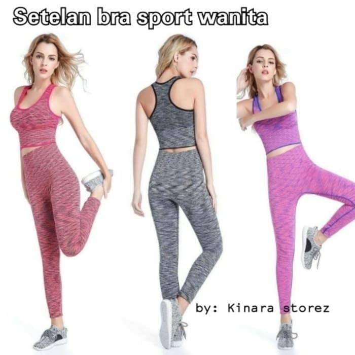 Jual Setelan Baju Bra Set Celana Legging Sport Olahraga Gym Kab Bandung Alat Untuk Mancing Tokopedia