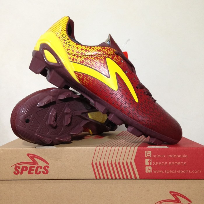 harga Sepatu bola specs photon fg chocolate red 100824 original bnib Tokopedia.com