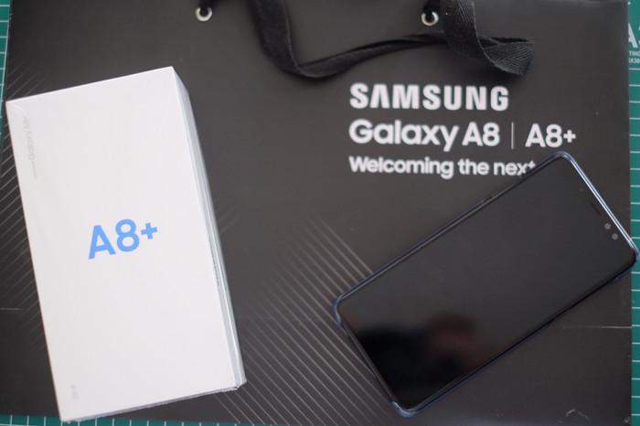Jual SAMSUNG Galaxy A8+ 2018 Black ex Februari 2018 - Hitam ... 3979d1bdf6