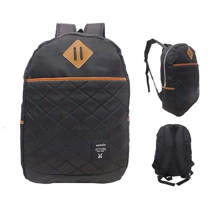 Jual Tas Ransel Backpack Wanita Polos Hitam Cordura - Hitam - pandan ... e030ef28b0