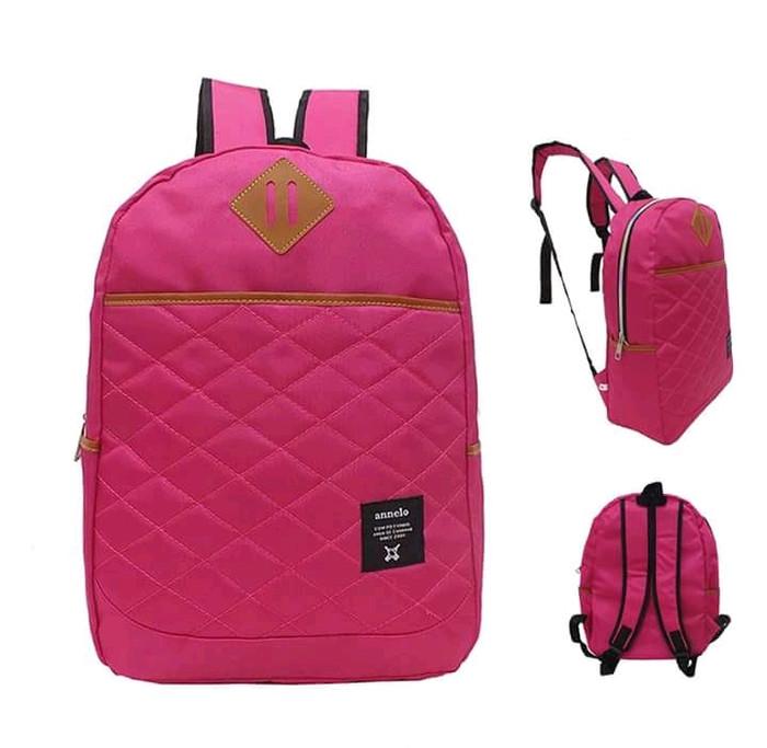 Jual Tas Punggung Ransel Backpack Wanita Polos Bahan Cordura ... a0de176c87
