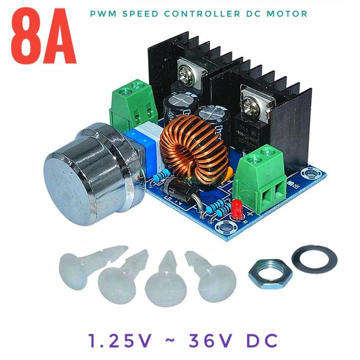 harga 8a 200w xl4016 step down pwm speed control motor dc out 1.25-36v Tokopedia.com