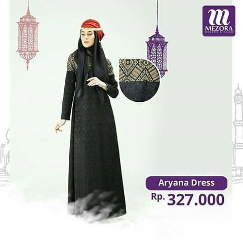 Harga Fashion Muslim Dress Gamis Aryana Mezora Rp 294300